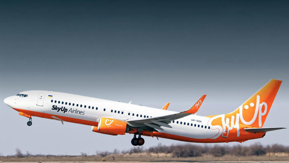 Український лоукостер SkyUp скасував 5 рейсів з Запоріжжя