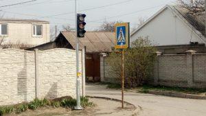 В Запоріжжі на складному перехресті встановили нові світлофори