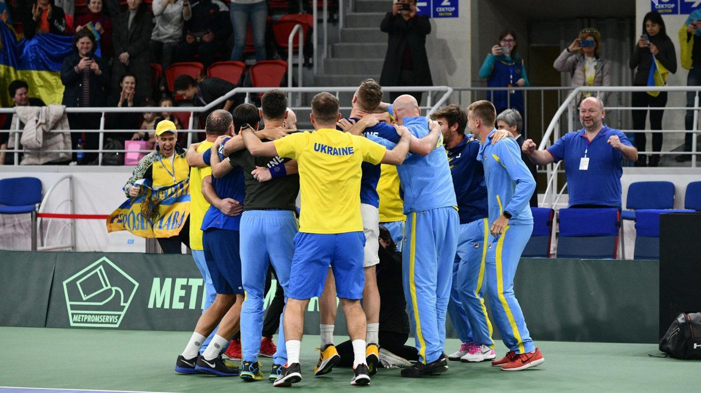 У Запоріжжі в Кубку Девіса збірна України перемогла Тайвань, — ФОТО