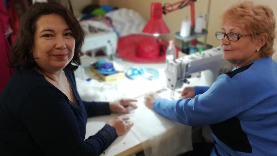 На Запоріжжі налагодили виробництво медичних масок, — ФОТО