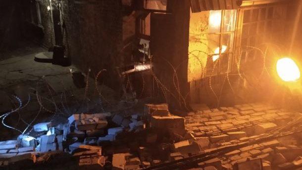 Вибуху не було: стала відома причина падіння стіни на запорізькому заводі, — ФОТО