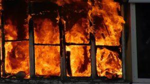 В Запорожье во время пожара погибла женщина