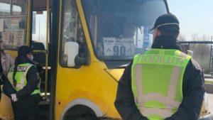 В Запорожье и области перевозчиков уже начали штрафовать за нарушения карантинных мер
