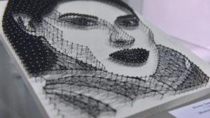 Запорізькі студенти показали картини зі цвяхів і ниток, — ФОТО