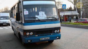 В Запорожье организовали четыре новых автобусных маршрута для доставки медиков в больницы