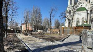 В Запорожье активно строят новый сквер Пионеров: что уже сделали, — ФОТОРЕПОРТАЖ