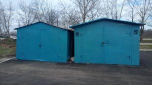 У Запоріжжі на Бабурці демонтували два незаконних металевих гаражі, – ФОТО
