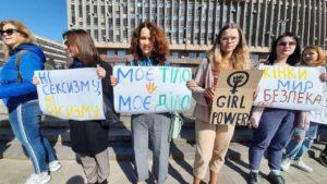 «8 марта – не про цветы»: в Запорожье провели шествие за права женщин, – ФОТО