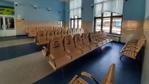 В Запорожье из-за карантина опустели железнодорожный вокзал и автостанция, – ФОТОРЕПОРТАЖ