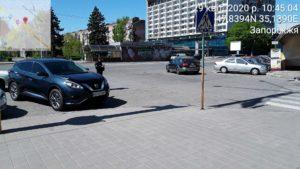 Інспектори з паркування за півтора місяці виписали 1000 штрафів