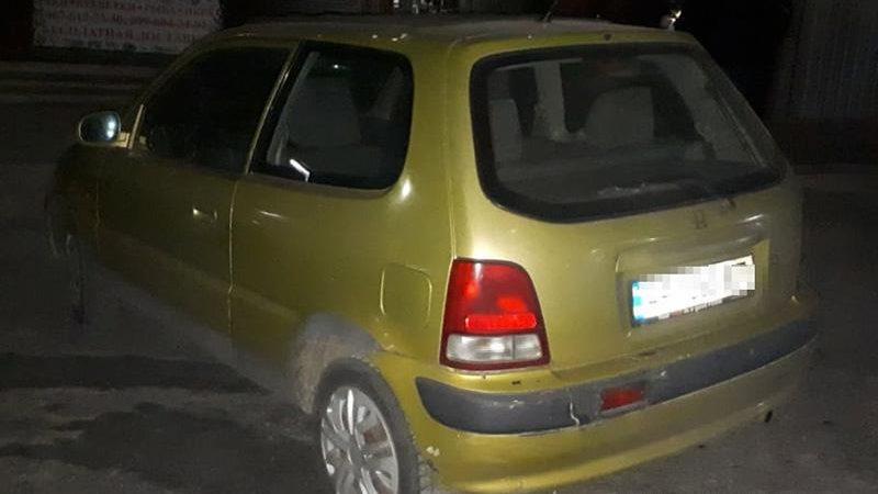 У мешканки Запоріжжя вкрали автівку: поліція затримала ймовірного злодія
