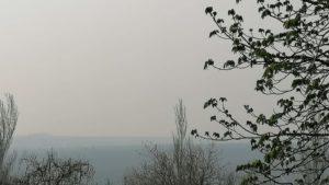 До Запоріжжя дійшов сморід від пожеж в Київській та Житомирській областях