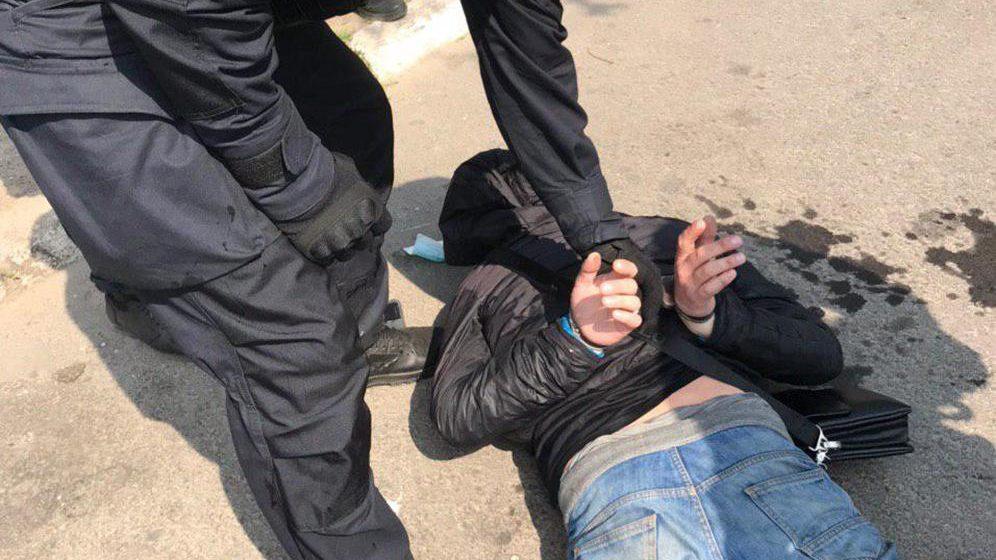 В Запорожье правоохранители задержали очередного распространителя метадона