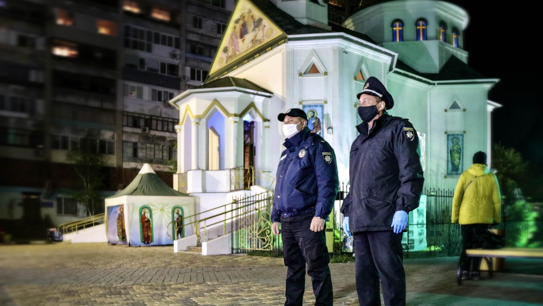 В Запорожской области Нацполиция зафиксировала нарушения карантина во время богослужений