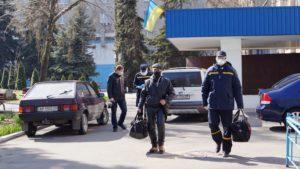 ДСНС-ники допомогли мешканцю Запорізької області потрапити з лікарні додому