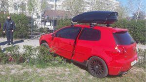 В Запорожье пьяный  водитель спровоцировал ДТП с мотоциклом, — ФОТО
