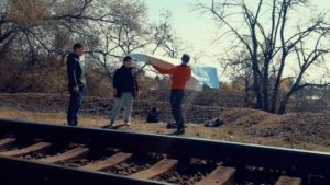 Підлітки з Запоріжжя запустили гігантський повітряний літак, — ВІДЕО
