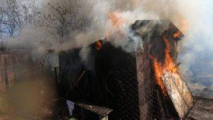 В центральной части Запорожья горел частный дом, - ФОТО