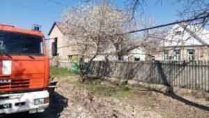 В Запорізькому районі через пожежу у власному будинку загинув чоловік, — ФОТО