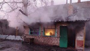 В Запорожской области в собственном доме во время пожара погиб человек, — ФОТО
