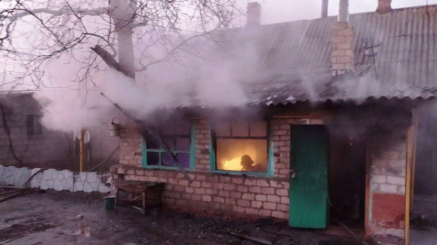 В Запорізькій області у власному будинку під час пожежі загинув чоловік, — ФОТО