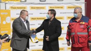 Допомога Україні: Фонд Ріната Ахметова і ДТЕК передали Луганській області 30 000 експрес-тестів для виявлення коронавірусу