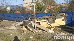 В Запорізькій області сталась смертельна ДТП: правоохоронці в пошуках свідків, — ФОТО