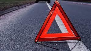 На трассе Харьков-Симферополь произошла авария: машина перевернулась на крышу, — ФОТО