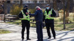 В Запорожской области на нарушителей карантина полиция составила 440 протоколов
