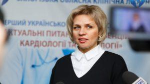 Керівниця запорізького обласного управління охорони здоров'я підтвердила зараження коронавірусом