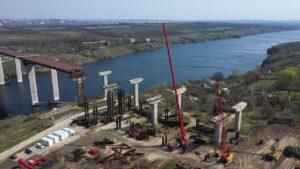 Сегодня в Запорожье глава Укравтодора даст старт строительству мостов через Днепр