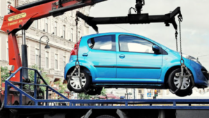 Житель Запорожья получил штраф за парковку на зеленой зоне