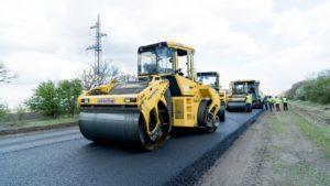 В Запорожской области продолжается масштабное строительство новой трассы в направлении Бердянска, – ФОТОРЕПОРТАЖ