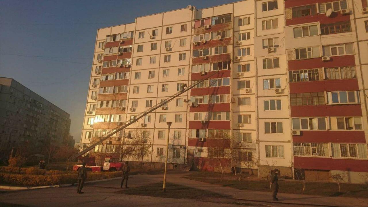 У Запорізькій області через пожежу на балконі мало не згоріла квартира, – ФОТО