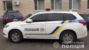 В Запорожской области пьяные родственники водителя-нарушителя избили полицейских и угнали их служебное авто, – ФОТО