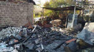 У Запоріжжі в пожежі травмувалася 66-річна жінка, – ФОТО