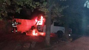 В Мелітополі палав «Mercedes-Benz», — ФОТО