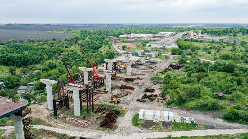 В Запорожье активно возобновили строительство мостов через Днепр: что уже сделали, – ФОТОРЕПОРТАЖ, ВИДЕО