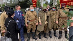 Вулицями Запоріжжя проїхався танк Т-34, — ФОТО, ВІДЕО