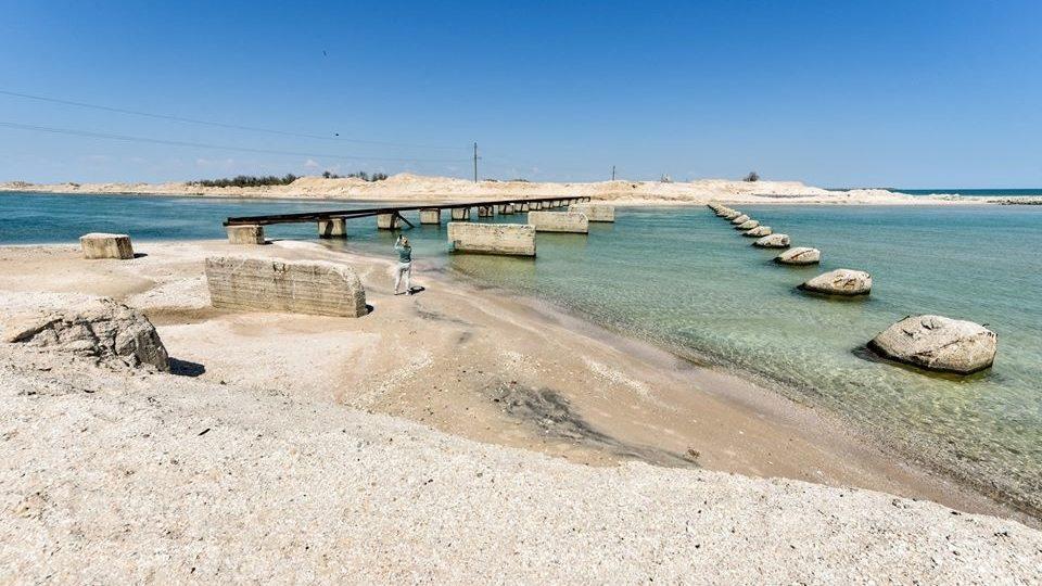 Будівництво каналу між Молочним лиманом та Азовським морем зупинили через державний борг