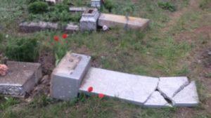 Правоохранители разыскивают родственников людей, чьи могилы были разбиты в апреле в Пологовском районе