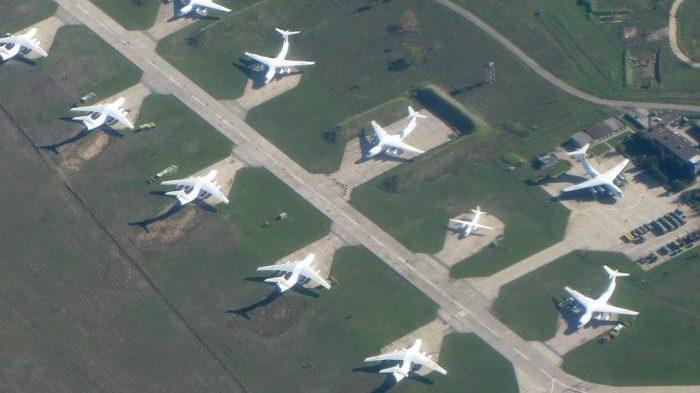 Авиацию воздушных сил планируют сосредоточить на нескольких авиабазах, в том числе - в Запорожской области