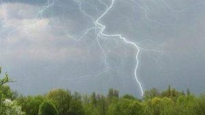В Запорожье и области ожидаются грозы, местами — шквальный ветер