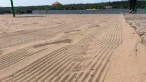 Запорожские пляжи начали готовить к сезону отдыха