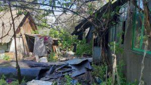 В Кушугум палав будинок: прямо з місця пожежі до лікарні госпіталізували чоловіка, — ФОТО