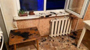 В Запорізькій області сусіди врятували дітей, які випадково підпалили фіранку в квартирі, — ФОТО