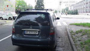 Пом'якшення карантину в Запоріжжі призвело до збільшення порушень правил паркування