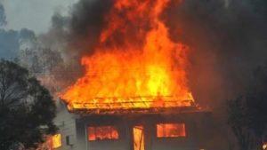 В Запорожской области пожар унес жизнь 64-летней женщины