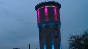 В Запорізькій області 64-річній водонапірній вежі подарували нове життя, — ВІДЕО