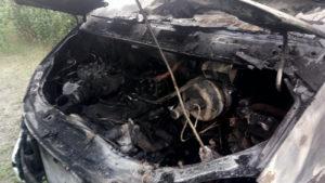 В Запорожской области сгорел грузовик, – ФОТО